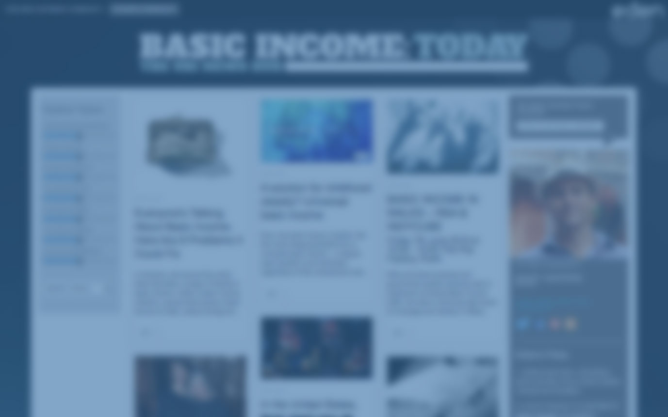 Basic Income Today website