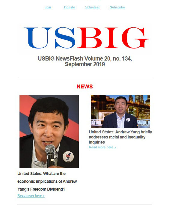 USBIG Newsflash, September 2019