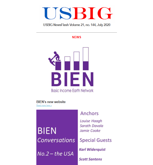 USBIG Newsflash, July 2020