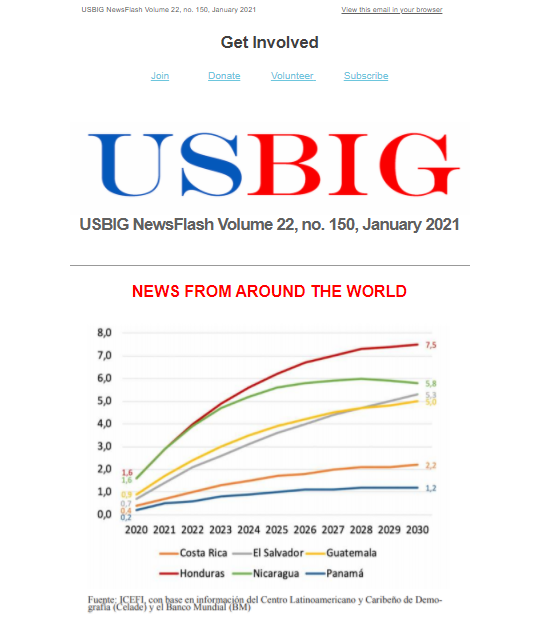 USBIG Newsflash, November 2020