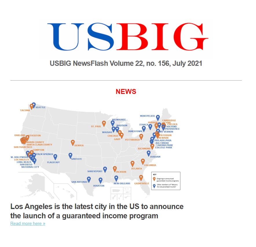 USBIG Newsflash, June 2021